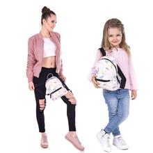 Yufang Для женщин мини-рюкзак для Обувь для девочек детская школьная сумка Baby ананас Фламинго печать Детский сад Школьный для детей розовый