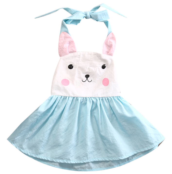 Infant Kids Baby Girl Summer Dress Cute Bunny Princess Party Sleeveless Halter Tutu Sleeveless Dresses Clothes GirlsInfant Kids Baby Girl Summer Dress Cute Bunny Princess Party Sleeveless Halter Tutu Sleeveless Dresses Clothes Girls