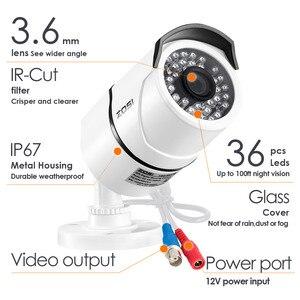 Image 4 - ZOSI 2,0 mp 1080P Volle HD Überwachungs Kameras Starke Infrarot 1080P HD TVI Sicherheit Kamera CCTV Kamera Video Kameras