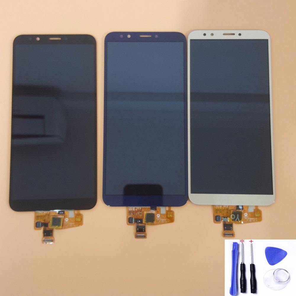 Objective With Frame 5.99 For Huawei Nova 2 Lite Lnd-l22 Ldn-lx2 Lcd Display Touch Screen Digitizer Assembly Screen Display With Frame Available In Various Designs And Specifications For Your Selection Mobile Phone Parts