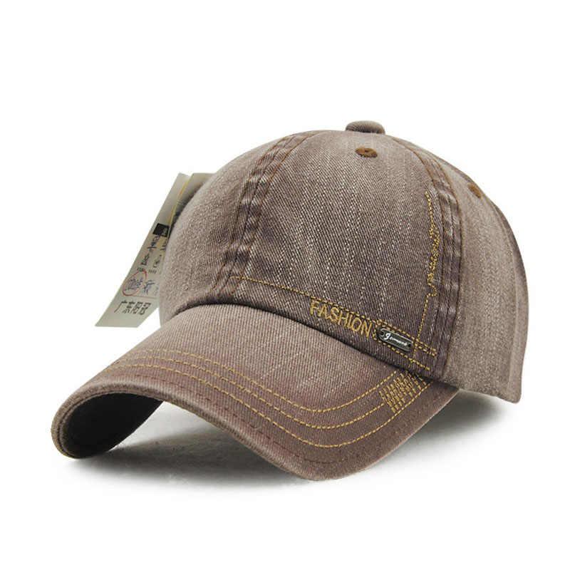 [AETRENDS] العلامة التجارية قبعة بيسبول الدنيم القطن قبعات سائق الشاحنة الهيب هوب قبعات ترد لمكانها للرجال الكورية أنيق gorras الفقرة hombre Z-2207