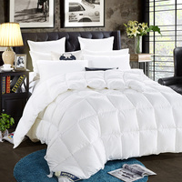 100% Feather velvet Down Winter Bedding Set King Queen Twin Size Quilt Cotton Cover blanket Quilt for Kids Adults