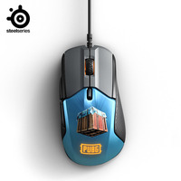 SteelSeries Rival 310 PUBG Edition Gaming Mouse 12,000 CPI TrueMove3 Optical Sensor Split Trigger Buttons RGB Lighting