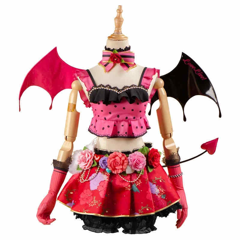 Love Live! Koizumi Hanayo Little Devil Demon SR Awakening Uniform Fancy Dress Cosplay Costume Custom Made For Adult