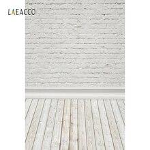Laeacco pared de ladrillo piso de madera retrato Grunge Photozone foto fondos fotográficos para estudio fotográfico fotófono