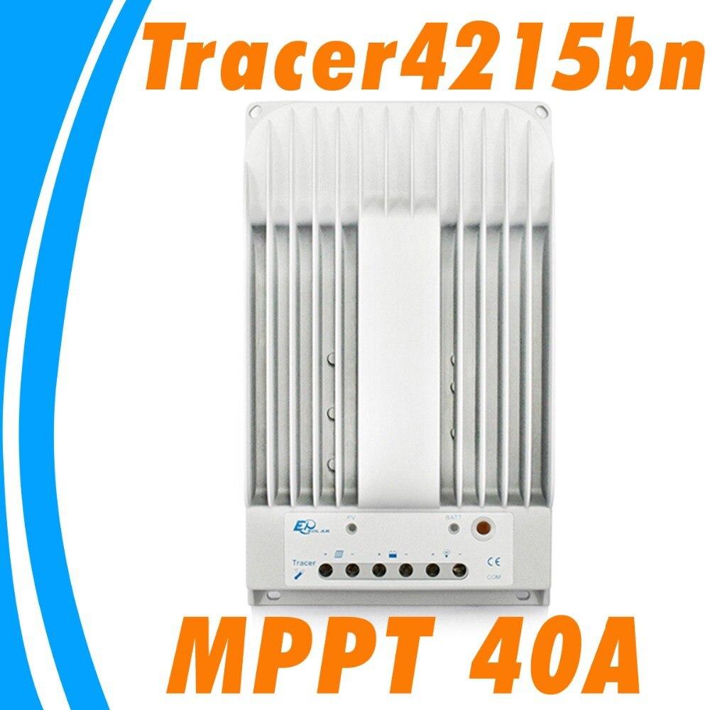 40A <font><b>Solar</b></font> <font><b>Panel</b></font> 12V <font><b>MPPT</b></font> Tracer 4215BN charge controller 24V PV system <font><b>MPPT</b></font> <font><b>charger</b></font> regulator 40A 150V MAX <font><b>Solar</b></font> Cells Input