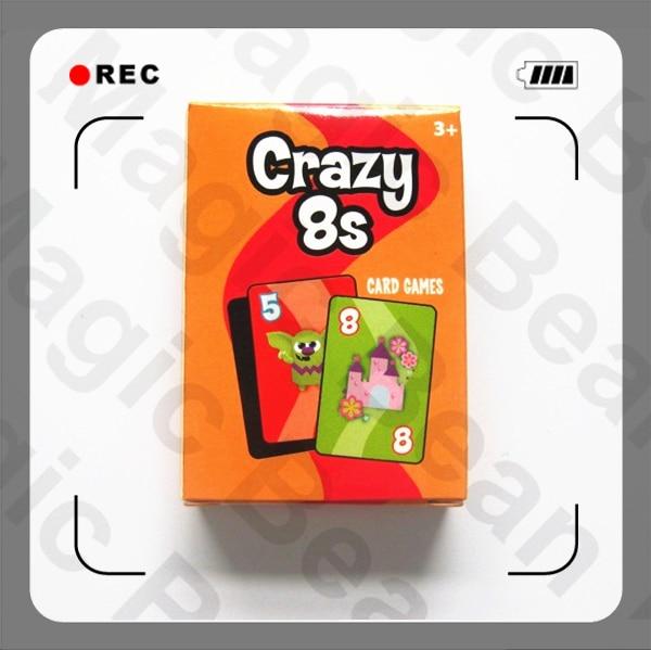 Gratis pengiriman Anak-anak Gila 8 S Permainan Kartu Poker Ukuran: 63 - Hiburan