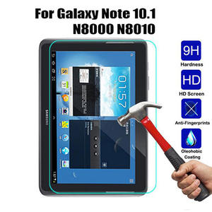 Screen-Protector GT-N8000 Note 10.1 Galaxy Samsung Tempered-Glass for 9H on N8000/N8005/N8010/..
