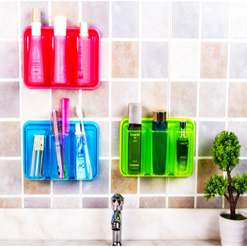 Bathroom Shelve Tandenborstelhouder zelfklevende Muur Opberg