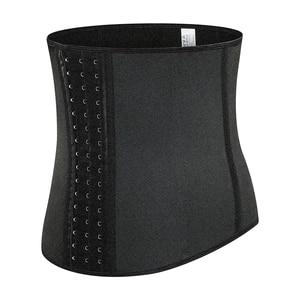 Image 5 - Waist Trainer Belt Neoprene Workout Body Shaper Weight Loss Fitness Fat Burner Trimmer Band Back Support Waist Cincher Shapewear