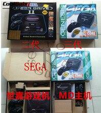 Supprot Sistema PAL MD3 MD2 Sega Video Game Console 16 bits jogador Handheld do jogo clássico MD3 sega megadrive 3 consolas de jogos TV