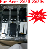 100% Tested LCD Display For Acer Liquid Z630 lcd with Touch Screen Digitizer Panel for acer z630 z630s lcd With Frame