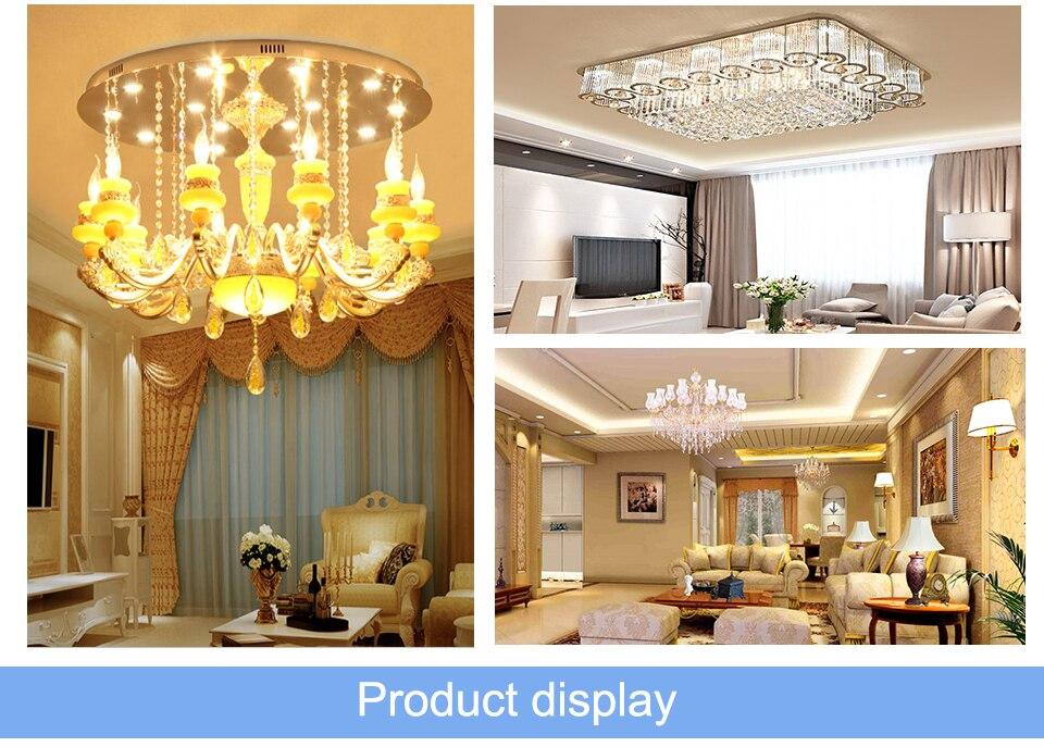 G9 LED Lamp 5W 7W 9W LED Light Bulb AC 220V 110V Chandelier (11)