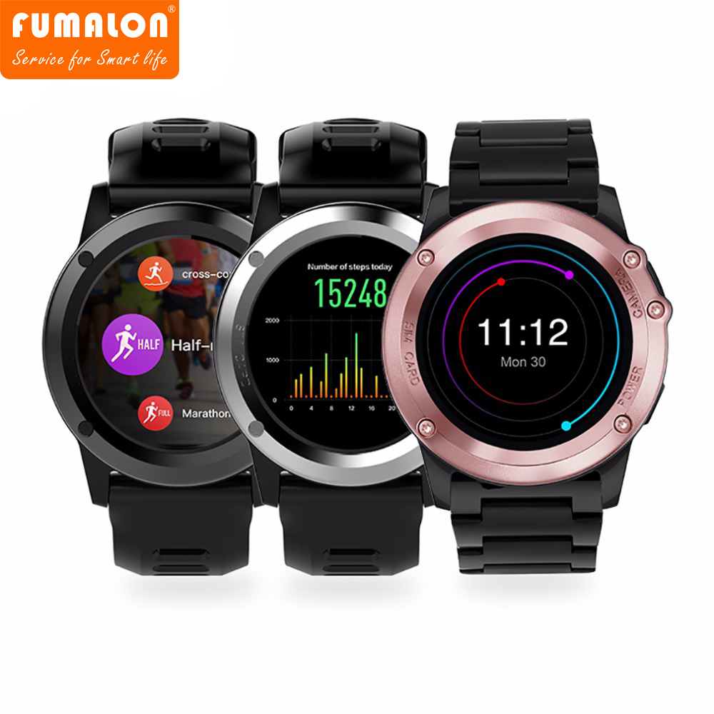 2017 Hot Sale New Arrival Answer Call French H1 Smart Watch Mtk6572 Ip68 Waterproof 1.39 Inch 400 * Gps Wifi 3g Heart Rate 4gb wireless service call bell system popular in restaurant ce passed 433 92mhz full equipment watch pager 1 watch 7 call button