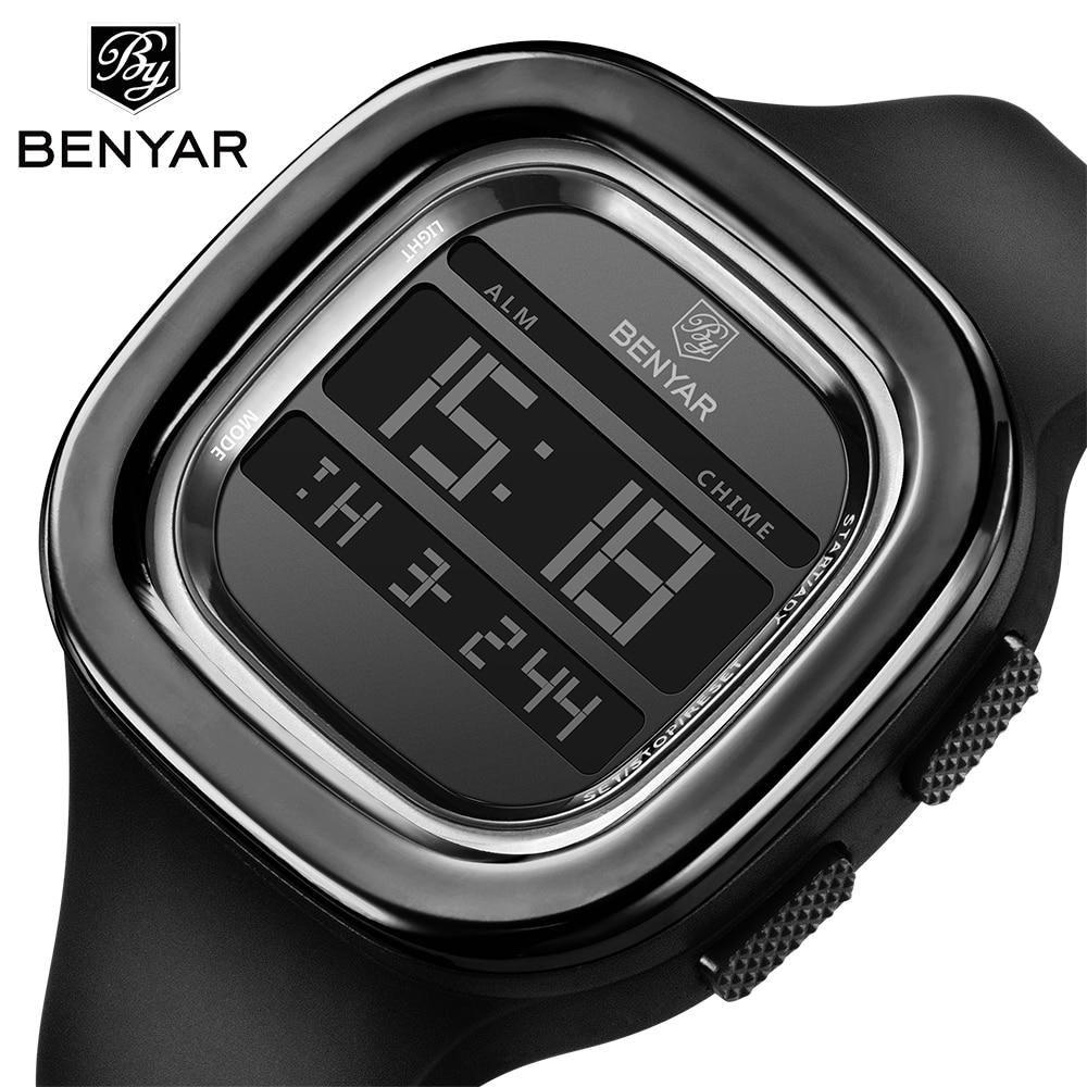 Sport Watch Electronic Digital Male Wrist Clock Man 30M Waterproof Men's Watches NEW