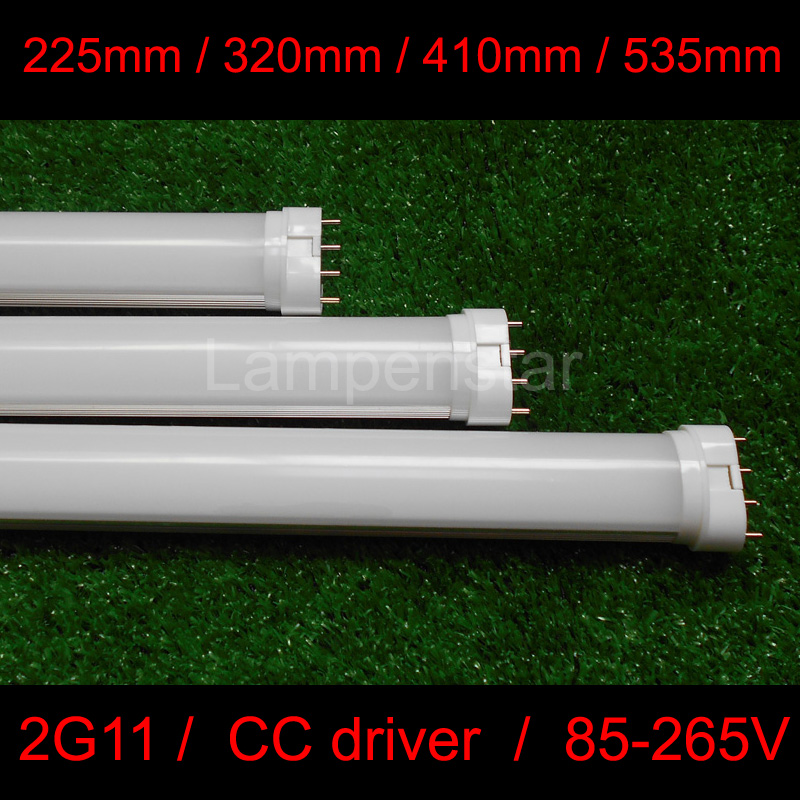 Real power 2G11 LED Light 2G11 Tube LED 9W 12W 15W 18W 22W 36WSMD2835 Diffused Cover AC85--265V Warm/Cool White Free Shipping free shipping 10pcs carton 1 2m 18w 36w led t5 single tube double tube light with shiled to replace 28w 36w traditional light