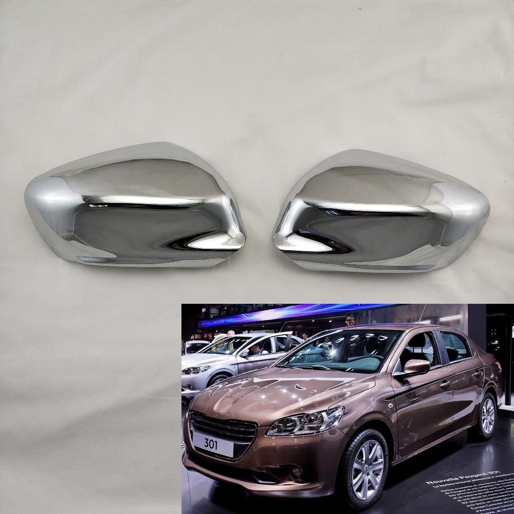 Derecho Lado Del Conductor Espejo Cubierta Tapa cerca de plata NUEVO Peugeot 206 206