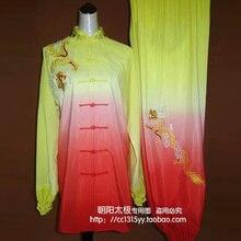 Customize Tai chi clothing Martial arts clothes taiji sword performance suit kungfu uniform for men women boy girl kids children