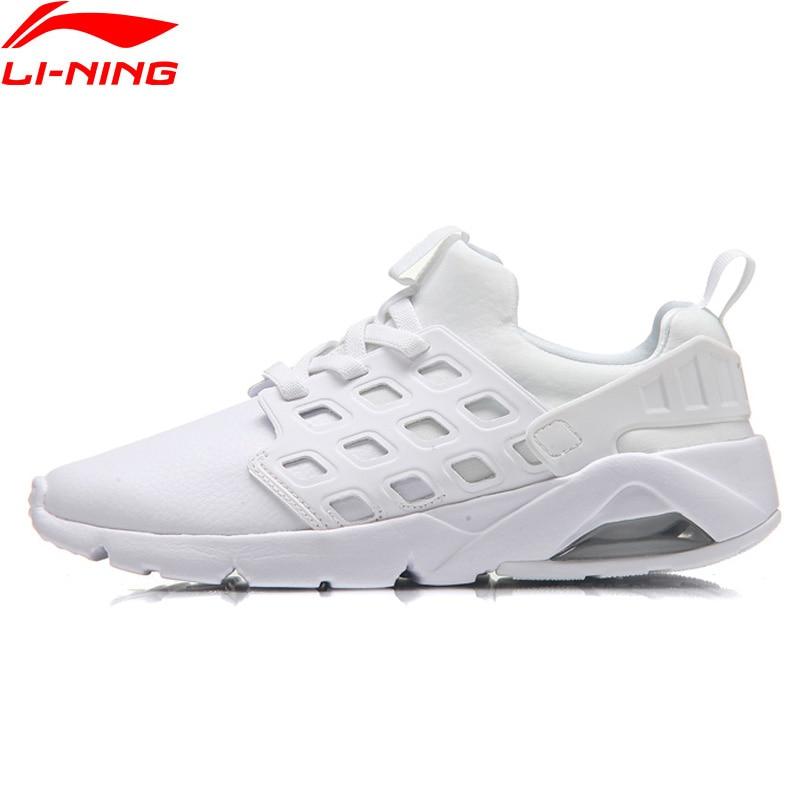 Li-Ning Women Bubble Ace Walking Shoes Breathable Streetwear Sneakers Air Cushion Mono Yarn LiNing Sports Shoes AGLM022 YXB066 li ning bubble ace walking shoes men sneakers lining breathable mono yarn sports shoes aglm019 yxb077