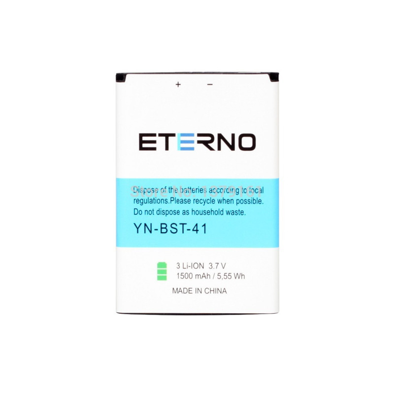 Eterno BST-41 BST41 Battery for Sony Xperia Play X1 X2 R800 Z1i X10i X10 A8I MT25i A8i Rechargeable Battery 1500mAh