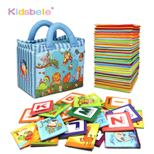 Baby Early Learning Toys For Children Alphabet&Letters Montessori Soft Cards Books For Toddlers Activity Baby Toys 0-24 Months