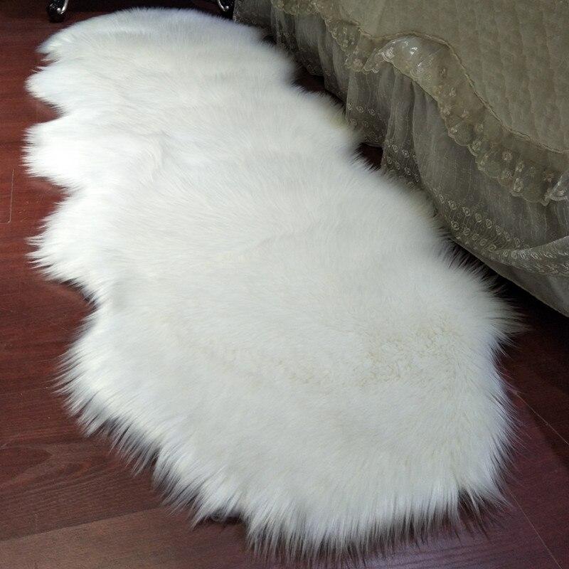 Peluche canapé coussin imitation laine vague tatami tapis en peau de mouton salon carepet balcon fenêtre décoration couverture chambre tapis