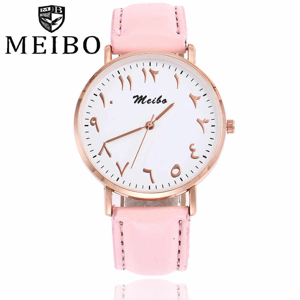 13e5b9f7ed4 Fashion Women Leather Band Dress Quartz Wrist Watches Luxury Top Brand  White Casual Sport Ladies Wristwatch