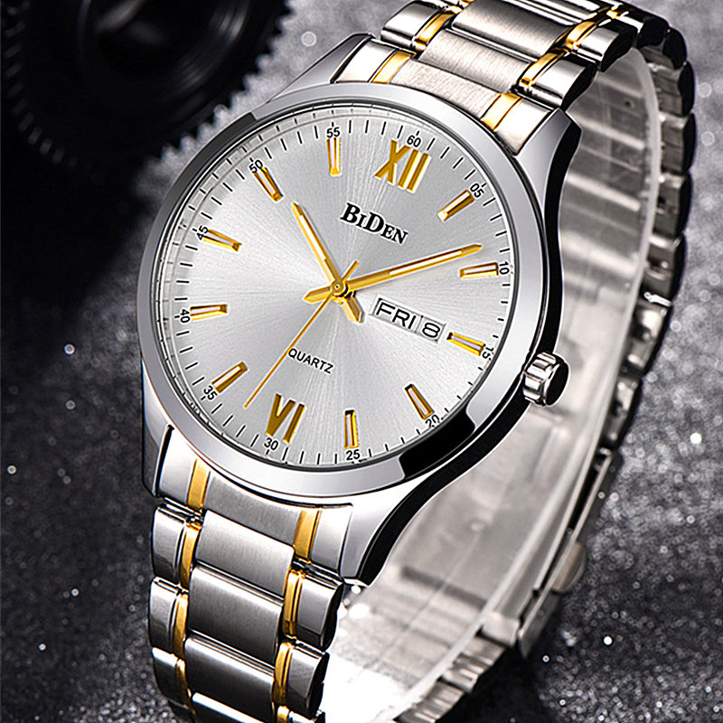 Relojes Hombre Top Brand Luxury Men Watches Men Business Quartz Watch Auto Date Waterproof Clock Relogio