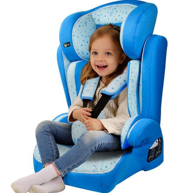 Azul Sano Color Naturl Sentarse Mentira Ajustable Tipo de Asiento de Seguridad para Niños Silla