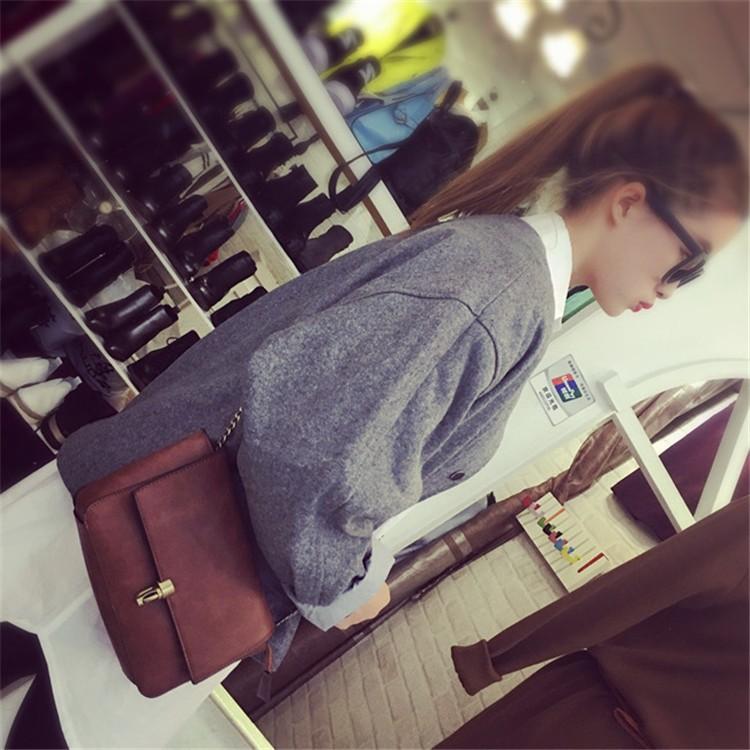 2015 New Fashion Women Bag Leahter Handbags Small Messenger Bolsa Feminina Crossbody Shoulder Bags  Bolsos Famous Brands Lady 013