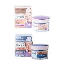 Balea Vital+ Baobab Day/Night Cream for Women Mature Skin 55-70 Years Anti Wrinkle Moisturizing Repair Skin Elasticity Firmness