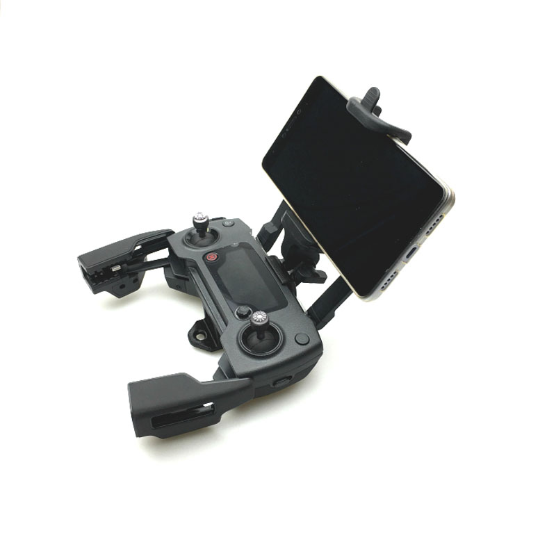 3D Print 50-85mm Mobile Phone Clip Mount Holder For DJI Mavic Pro Air Spark Drone Remote Control Accessories