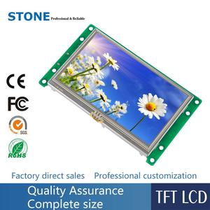 """4.3"""" TFT Display with Touch Controller UART Interface Support ARM/ PIC/ Arduino/ Any Microcontroller"""