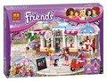 2016 Original Novo BELA Amigos do Parque Da Cidade Café Conjunto de Blocos de Construção Tijolos Brinquedos Compatível Com Os Amigos Para A Menina
