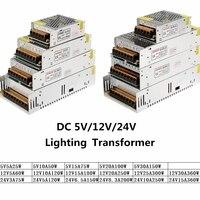 DC 5 V 12 V 24 V адаптер питания 3A 5A 10A 15A 20A 25A 30A Трансформаторы освещения 5 12 24 V адаптер питания драйвера