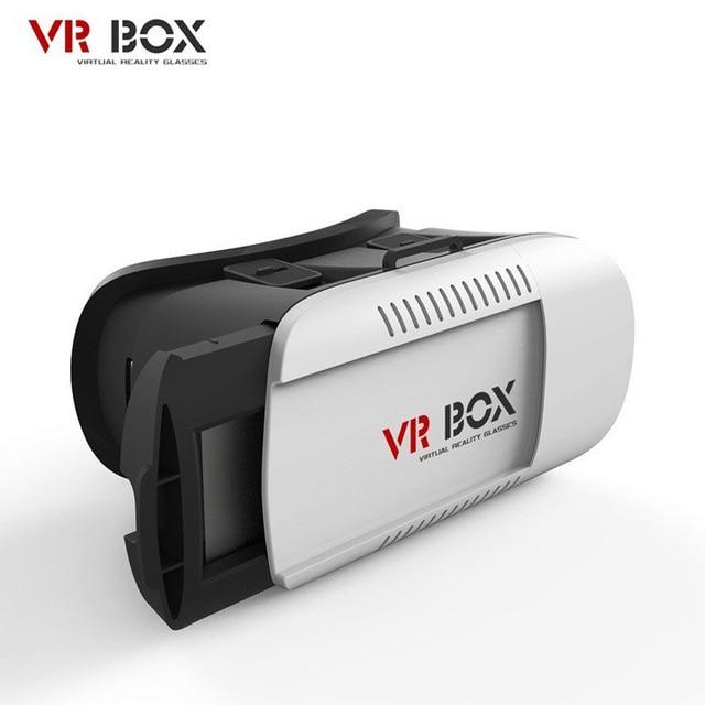 3D VR Очки Гарнитура КОРОБКА Глава Установить Виртуальную Реальность Фильмы Игры для 4.7-6.0 Дюймов Телефон B5