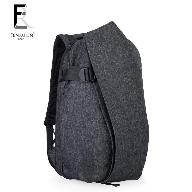 FRN Multifunction Irregular Travel Backpack Men 16'' Laptop Backpack Bag for Teenager Fashion Male USB Charging Backpack youlunshidai multifunction anti theft 16inch laptop usb charging backpack bag for teenager men and wome fashion travel backpack