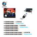 Lexin 8Pcs/set 15 Color 6 LEDS 12V Waterproof Motorcycle LED Light  Strip Kit  with wireless remote control for Motorcycle