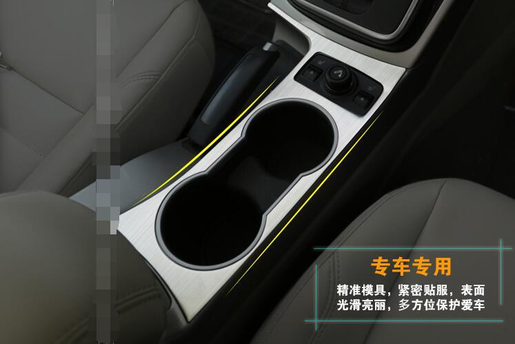 Car Styling Per Ford Kuga 2013-2016 Supporto Di Tazza Supporto Di Tazza Di Acqua Cornice Decorativa Di Alta Qualità In Acciaio Inox Trim