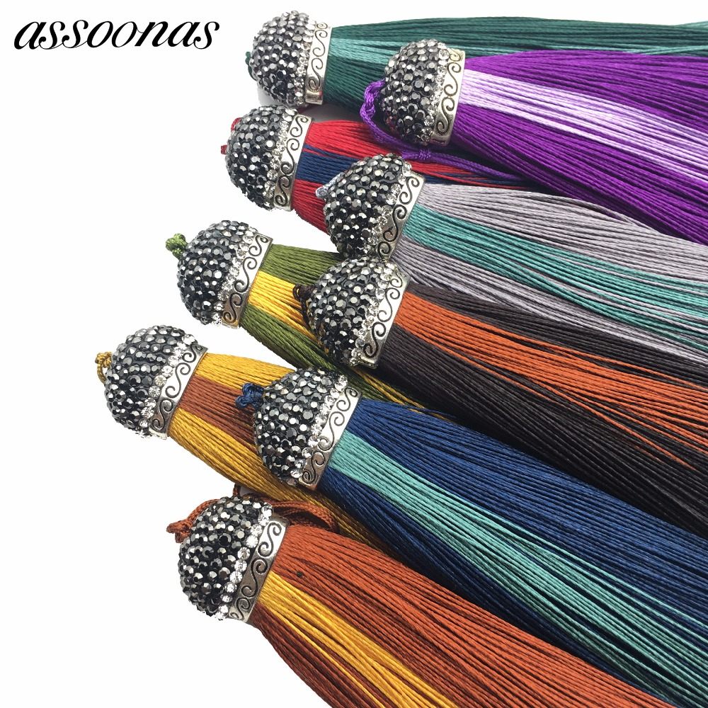 assoonas L85/jewelry accessories/accessory parts/jewelry findings components/Silk Tassels/jewelry materials/