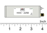 Frete grátis KSGC-2250 2.25GHz ativo cristal oscilador  fonte de sinal de 2250MHz freqüência fixa  gerador de sinal de relógio