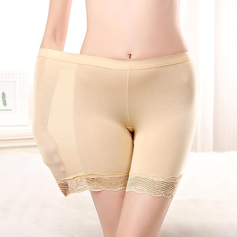 2019 Women Stretchy Seamless Safety Short Pants Hot Shorts Underpants Underwear Summer Under Skirt Breathable Short Tights in Safety Short Pants from Underwear Sleepwears