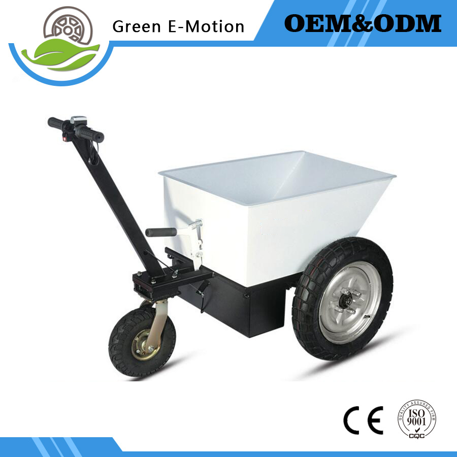 Electric agriculture wheelbarrow Carrying Wheelbarrow Three wheeled transport vehicle Dump truck industry cart electric trolley long yi and zhen shuang fu jade bracelet to help transport carrying 8000050 mascots