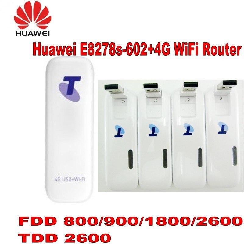 Huawei Wingle E8278s-602 Cat4 LTE USB WiFi débloqué modem TDD2600 prise en charge!