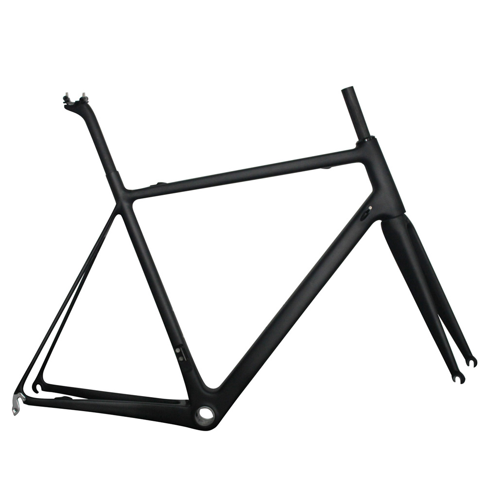 Carbon T800 Superlight BB86&DI2 48/50/52/56cm V brake Road Bike Frameset included frame fork 27.2mm seat post