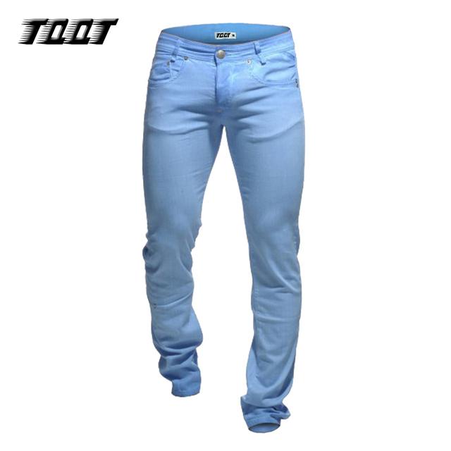 TQQT pantalones largos ocasionales coloridos pantalones elásticos mateial con bolsillos encuadre de cuerpo entero pantalones rectos de peso pesado de color pant 5P0609
