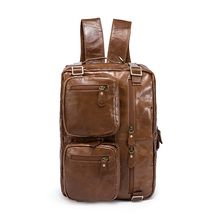 Genuine Leather Men's Bag (Can be turned into a Backpack)