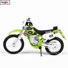 Maisto 1:18 Kawasaki KLX250SR original authorized simulation alloy motorcycle model toy car