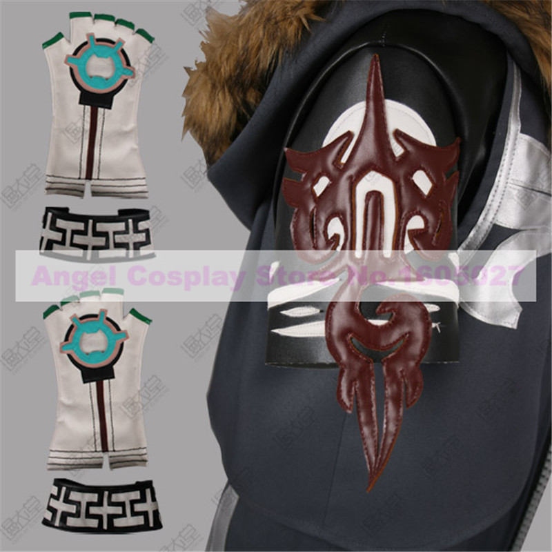 Anime Final Fantasy XIII Snow Villiers Cosplay Costume Winter Jacket Suit Halloween Costume free shipping