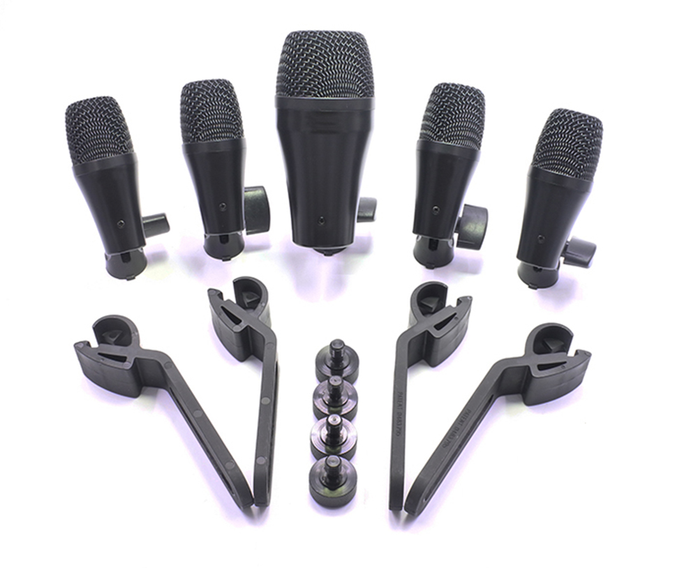 PGA52 PGA56 E902 E904 E906 style kick snare tom hihat 5 drum kit instrument dynamic microphone цены